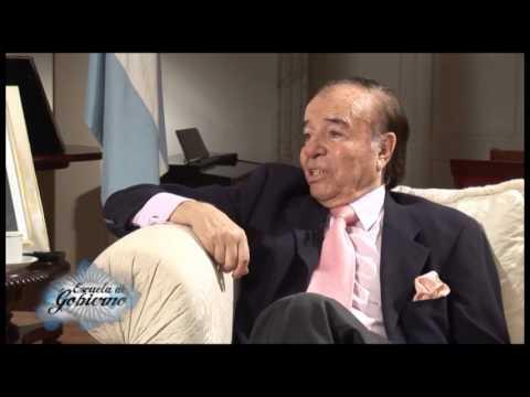 Escuela de Gobierno - Pensar para Gobernar - Carlos Menem