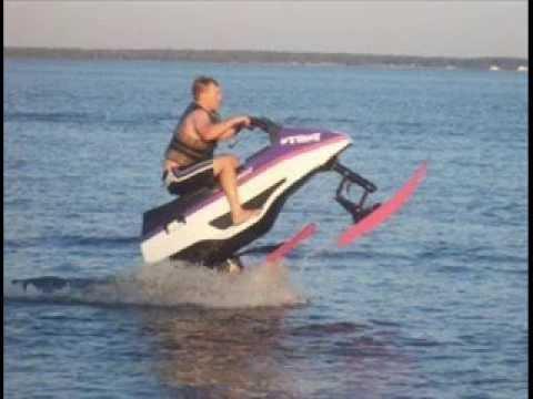 91 Wetbike Tomcat Uncrated Water Skiing Behind Youtube