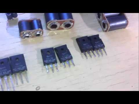 600W Mosfet Rf Amplifier Using APT2050BN