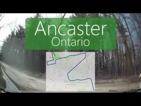 Driving In Ancaster (Hamilton, Ontario)