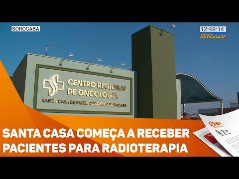 Santa Casa começa a receber pacientes para radioterapia - TV SOROCABA/SBT