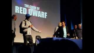 Red Dwarf Opening. Q&A Panel @ Wales Comic Con 2013.