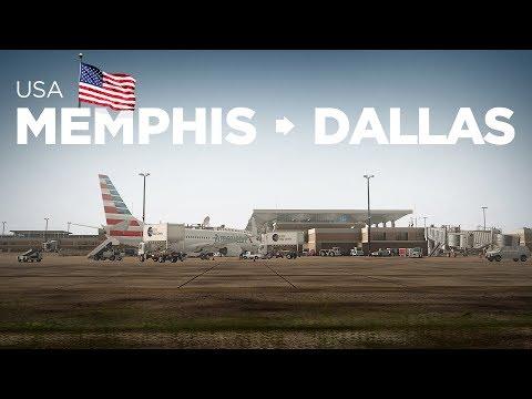 Prepar3Dv4 - B737-800 / Memphis → Dallas
