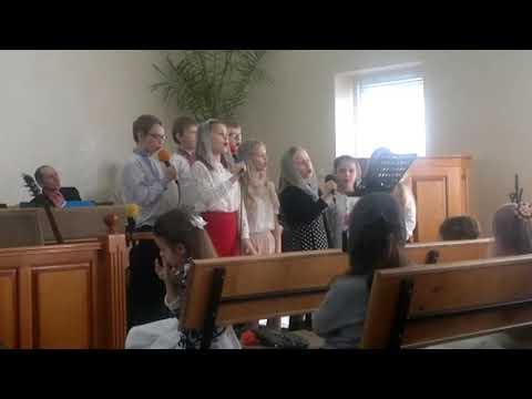 с  Хорів  -  Християнський спів   Люба матуся та любий татусь 15 03 2020 р
