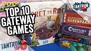Top 10 Gateway Board Games