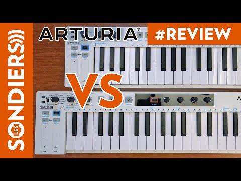 ARTURIA KEYSTEP 37 VS KEYSTEP 32 - Tout ce qui change