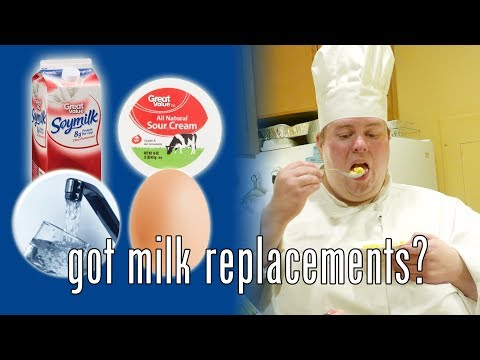 BoxMac 90: Milk Replacements (Sour Cream, Water, Egg, and Soy Milk)
