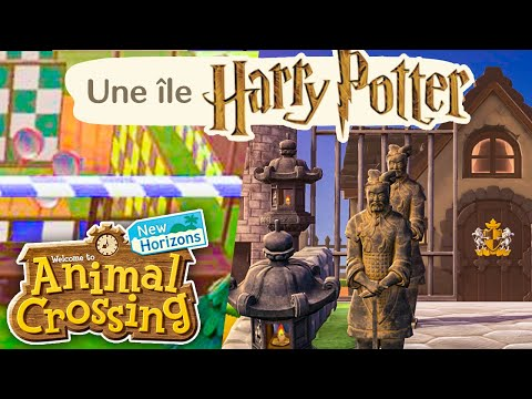 Une Île HARRY POTTER ! | Animal Crossing : New Horizons