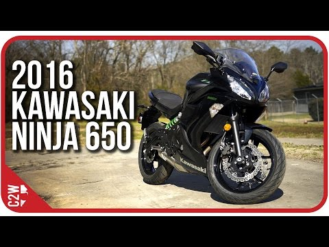 2016 Kawasaki Ninja 650 | First Ride