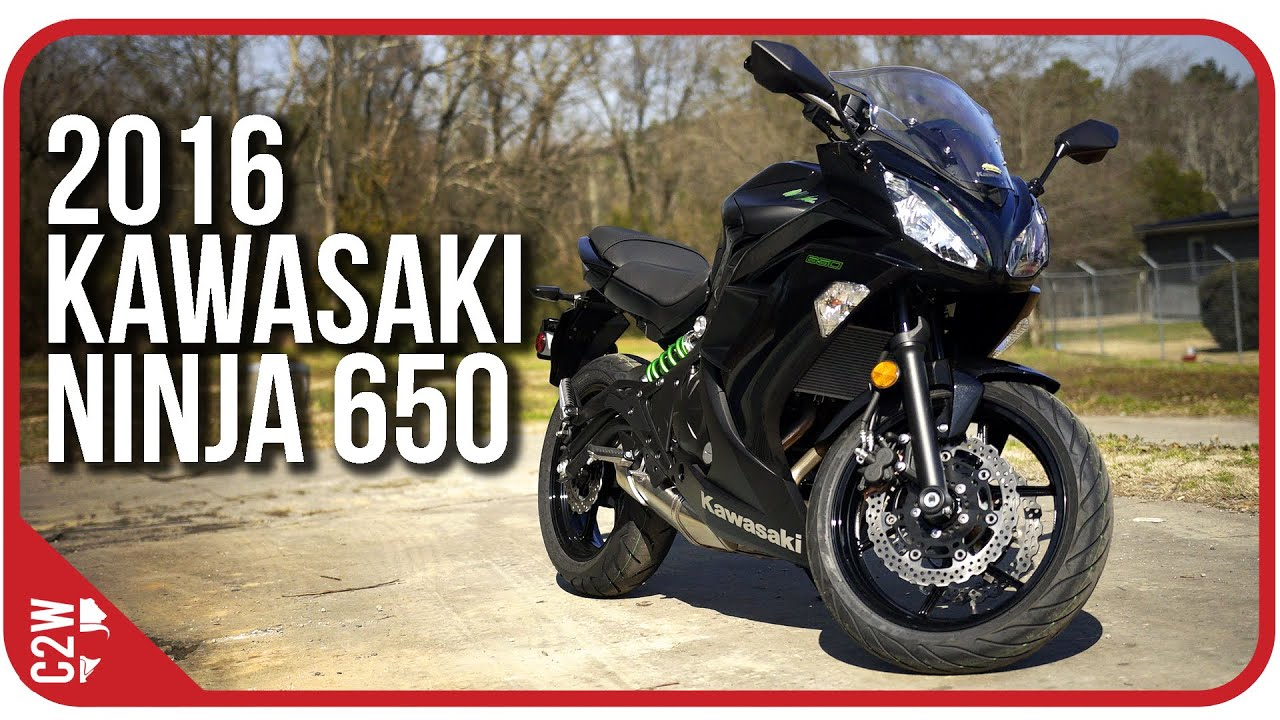 2016 kawasaki ninja 650 | first ride - youtube