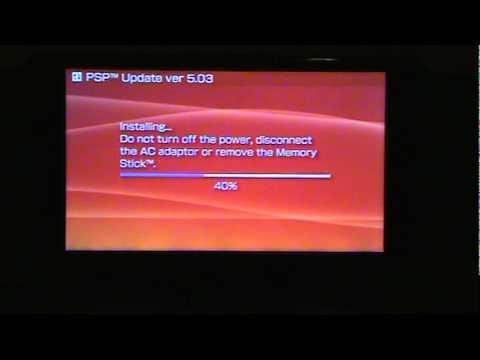 downgrade psp 5.03