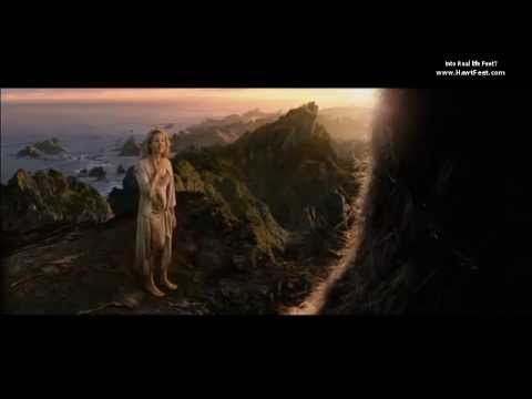 Barefoot female scene in King Kong's island