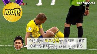 2018러시아월드컵- 침대축구의 끝판왕, 스웨덴침대vs이란침대