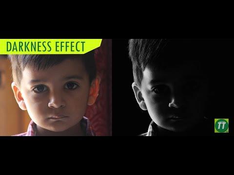 Photoshop Tutorial: Darkness Effect | Black & White Photo | Tech Tutorials HD