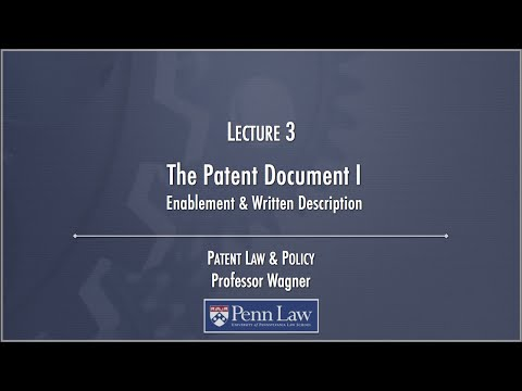 Lecture 03 - Patent Document 1