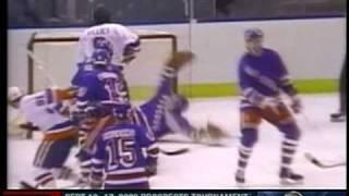 Tomas Jonsson goal Islanders vs Rangers (1984)