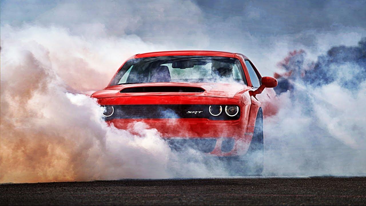 Hellcat Charger Burnout >> 2018 Dodge Challenger SRT Demon full HD photo slideshow - YouTube