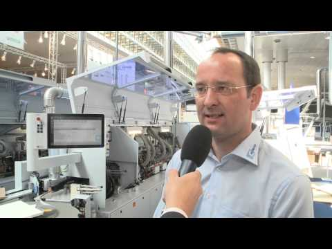 BRANDT: Three profiles in one tool - Industrial-standard dynamics &  precision LIGNA.TV 2013