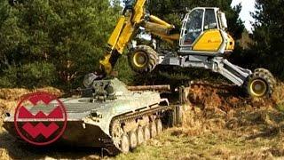 Panzer vs. Schreitbagger - Welt der Wunder