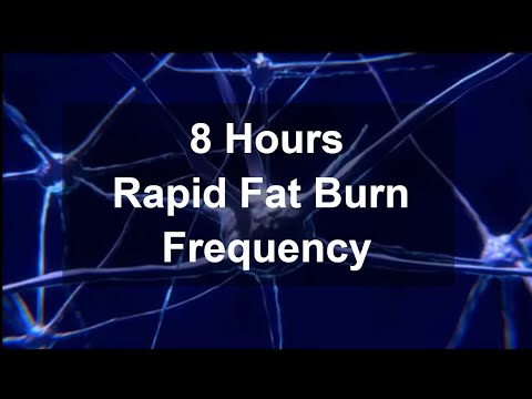 8 Hours GET RID OF BODY FAT | Fat burn Frequency | Super Metabolism | Fast Weight loss