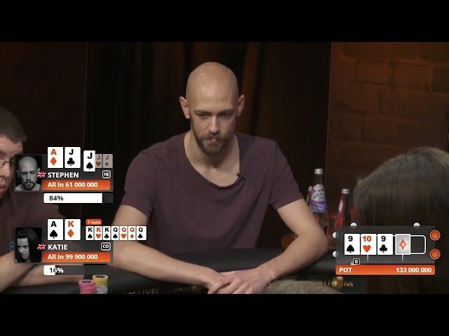 partypoker LIVE MILLIONS UK 2017 Ep 1   Tournament Poker   partypoker