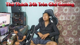 Black - Thử Thách 24H Trên Ghế Gaming // 1 Ngày Dài Nhất Mình Từng Trải Qua