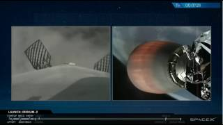 SpaceX Lands on Drone Ship After Foggy Launch