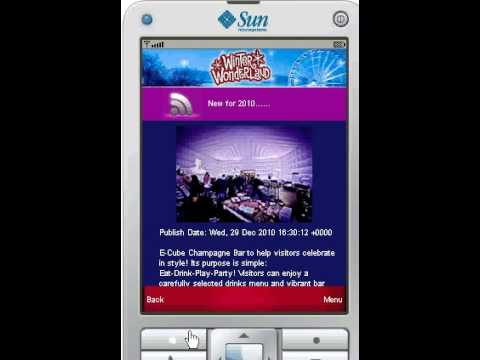 Winter Wonderland Mobile App - J2ME Freelancer (www.garethmurfin.co.uk)
