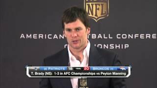 Tom Brady: 'We just came up one play short' | Patriots vs. Broncos | NFL