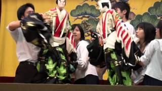 徳島県人形浄瑠璃城北高校民芸部2014