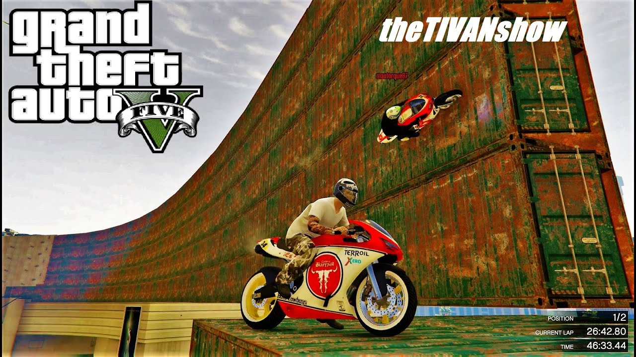GTA 5 : NEW MOTORCYCLE RACES by MAXTORQUE87 - ITS EPIC - PS4 - LIVE