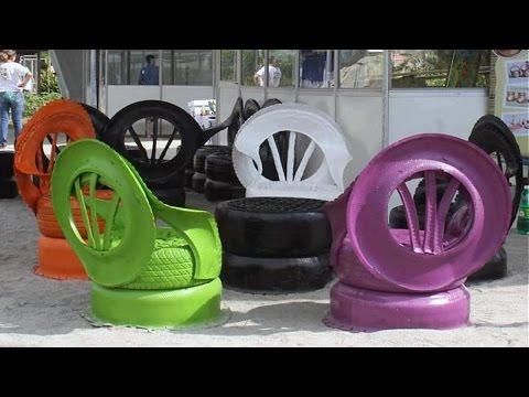 Creative Ways To Reuse Old Tires As A Garden Decoration Ideas
