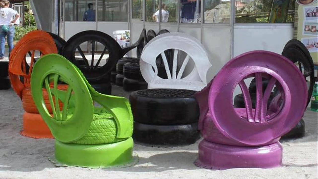Creative Ways To Reuse Old Tires As A Garden Decoration Ideas