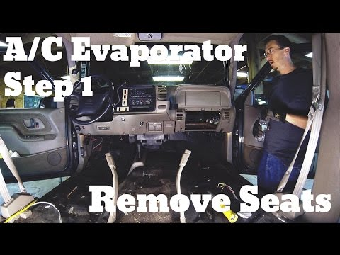 Chevy Suburban A/C Evaporator Replacement - YouTube
