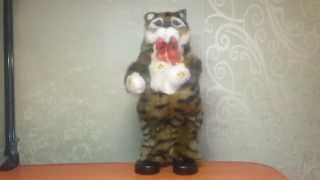 Танцюючий музичний кіт іграшка (6 пісень)