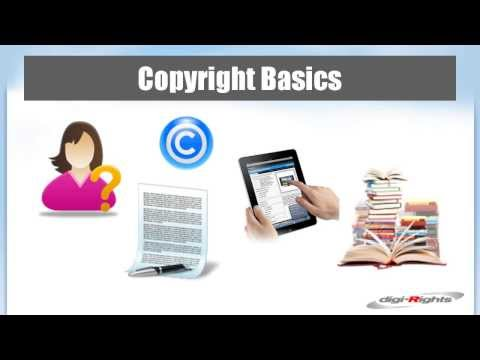 Copyright Basics for Authors