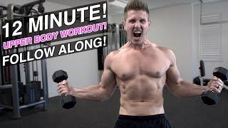 12 MINUTE UPPER BODY PUMP! (FOLLOW ALONG!)