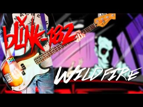 Blink 182 - Wildfire Bass Cover