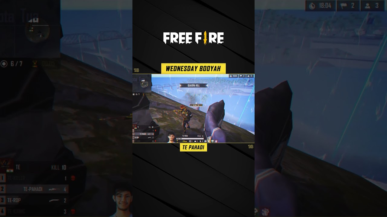 Wednesday BOOYAH: TE-Pahadi's Out of the World Sniper Clutch | Free Fire