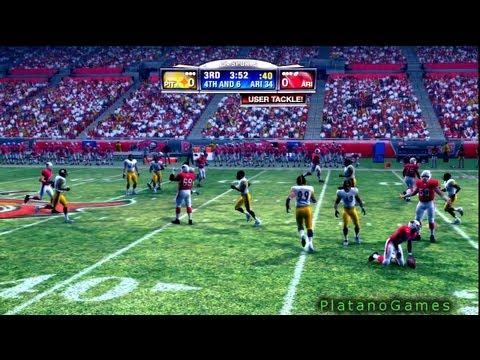 NFL 2008 Super Bowl XLIII - Pittsburgh Steelers vs Arizona Cardinals - 1st Qrt - Madden