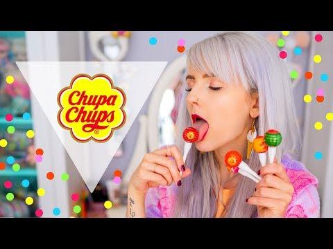 ♥ТЕСТ Косметики CHUPA CHUPS! Намазалась ЛЕДЕНЦАМИ?♥ Elmofeo Beauty Blog