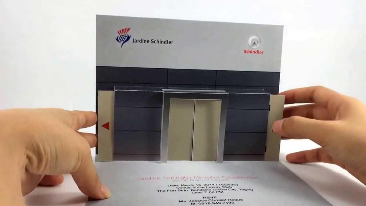 Schindler 3D Elevator mockup