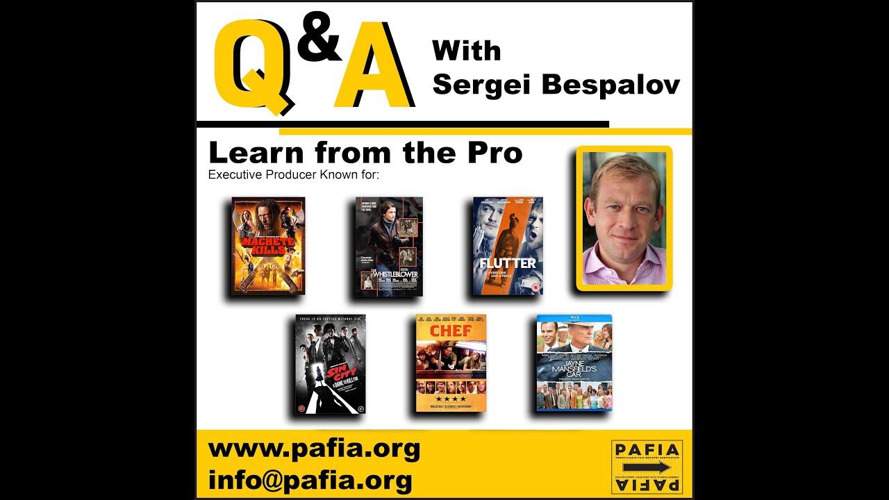 Masterclass with Sergei Bespalov
