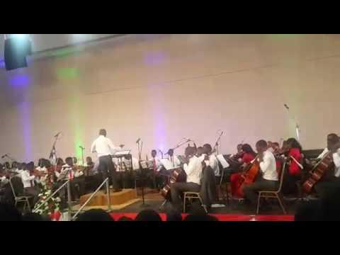 New Apostolic Church zambia orchestra - Conductor T.Nyirenda