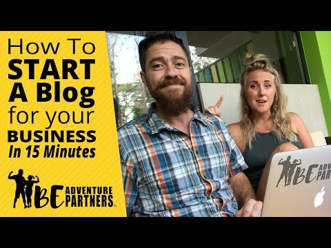 How To Start A Blog For Your Business And Get Paid - Step-By-Step Beginners Tutorial