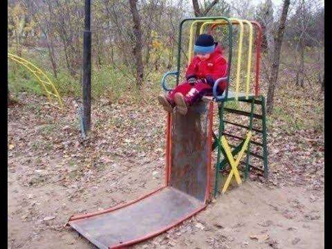 Ужасы дворов от российских ЖКХ