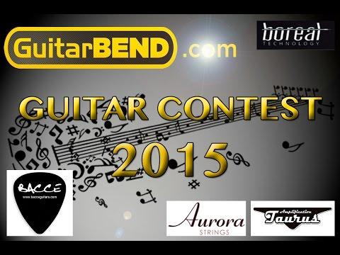 Guitar Contest  2015 - Miguel Del Río