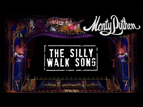 Monty Python - The Silly Walk Song (Official Lyric Video)