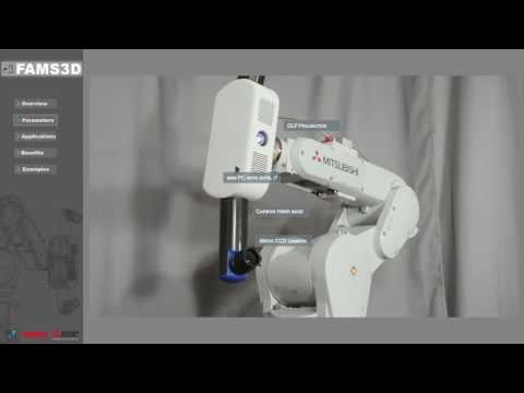 FAMS3D - Fully Automated 3D Measurement System