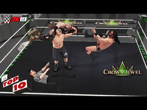 WWE Top 10 Crown Jewel 2018 Predictions! (WWE 2K19)